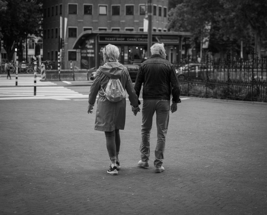 Never too old to love