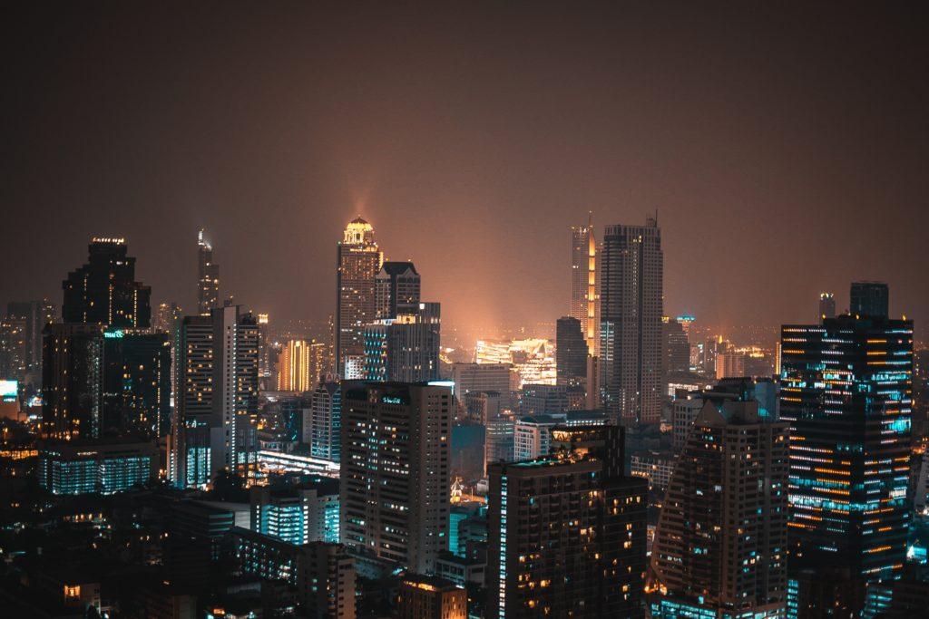 Skyline of Bangkok