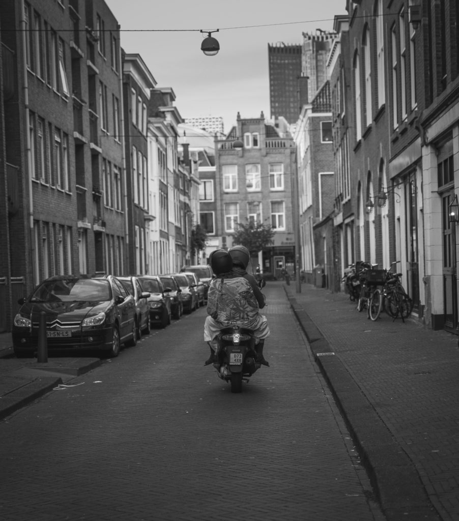 The Hague in black and white
